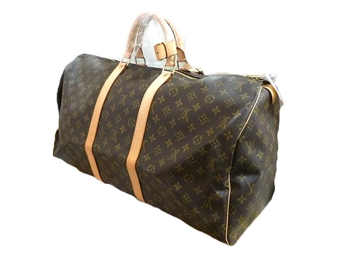 ルイヴィトンのボストンバッグ