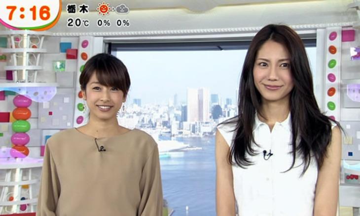 【芸能】 仲間由紀恵、「ミュージックフェア」代打カトパンと並んで判明した顔のサイズ